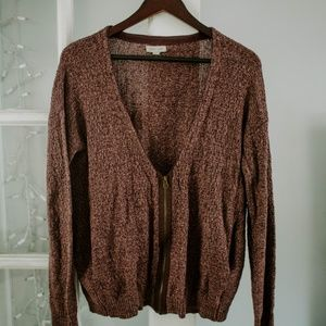 Urban Outfitter Zip Up Sweater